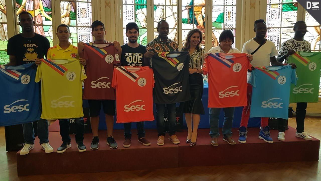 Copa dos Refugiados e Imigrantes 2019 chega a etapa regional no Rio de Janeiro