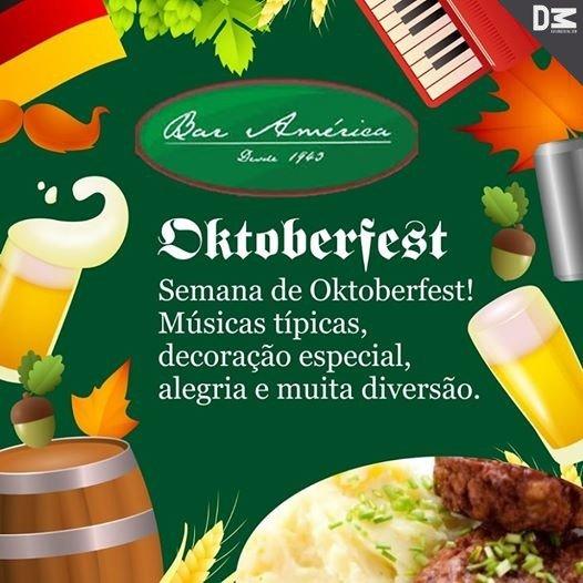Bar América tem Festa Alemã