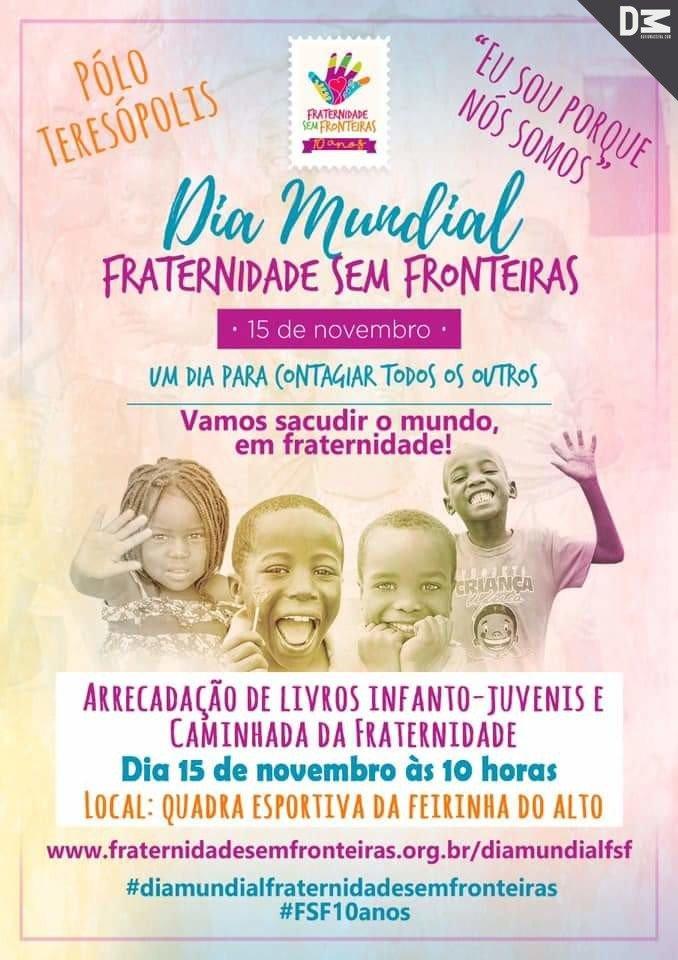 Fraternidade Sem Fronteiras em Teresópolis