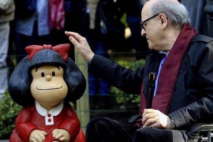 Morre Quino, o pai da Mafalda