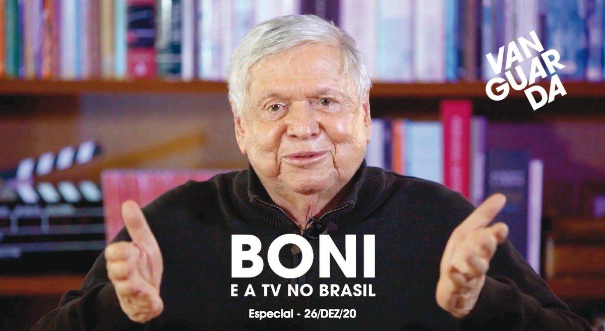 Boni e a TV no Brasil