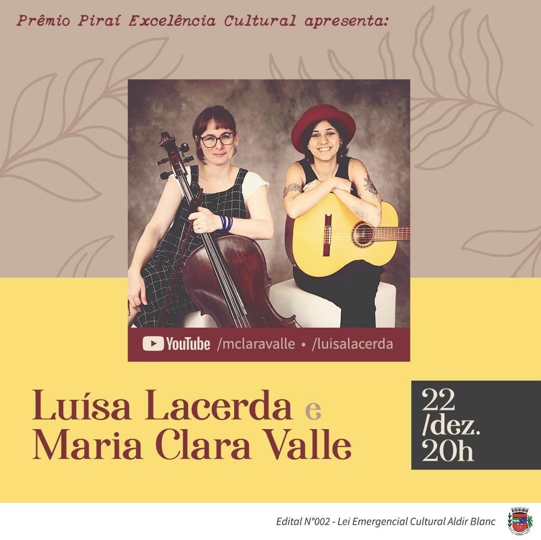 Luísa Lacerda e Maria Clara Valle em cinco canções