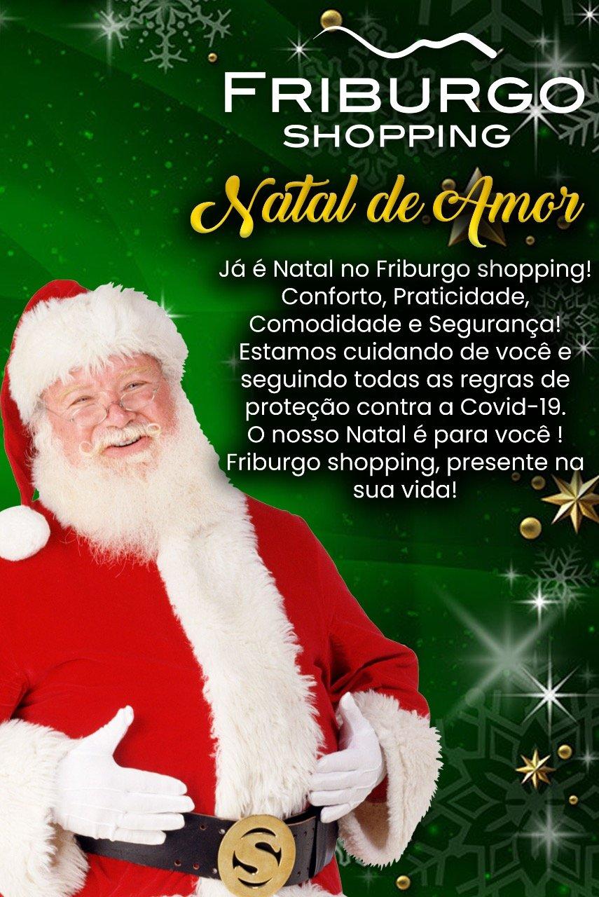 Natal de Amor no Friburgo Shopping