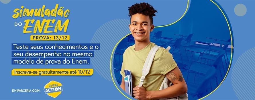 Simuladão ENEM Action prepara alunos de todo país para a avaliação oficial